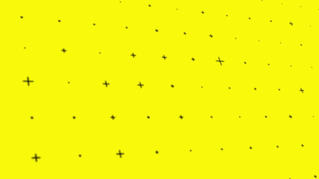 loop background animation with moving cross symbol - pop art video stock e b–roll