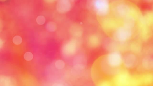 vídeos y material grabado en eventos de stock de fondo bokeh, movimiento, luz, color de rosa - lunares