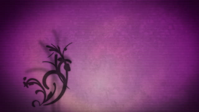 stockvideo's en b-roll-footage met background floral design v2 - floral line