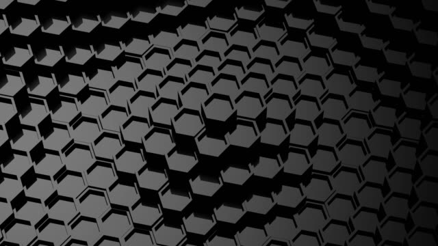 Background of Animated Hexagons video