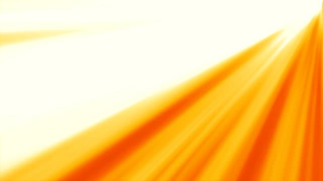 background of orange rays shining video
