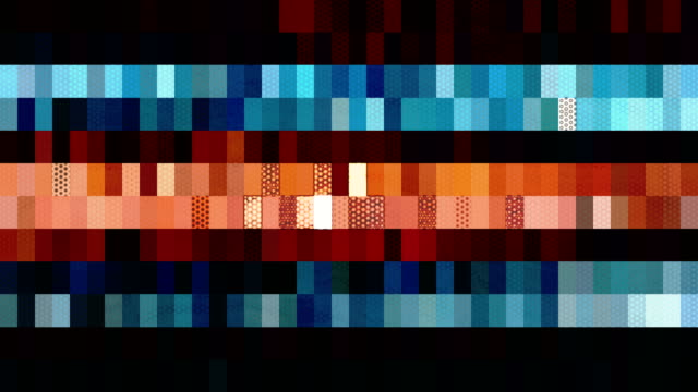 Background of the many rectangles changing color video