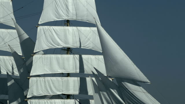 background - sails of an old ship background - sails of an old ship mast sailing stock videos & royalty-free footage