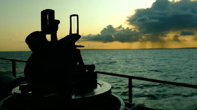 Bидео background - ship navigation