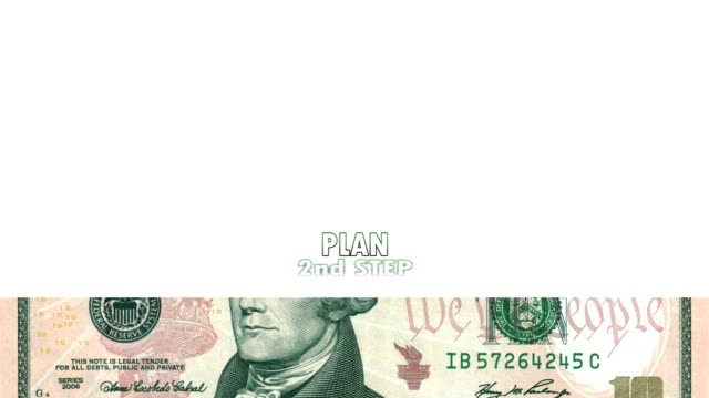 HD: Background With Animated Dollar Bills video