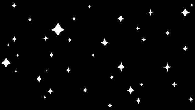 手描きの輝く星を持つ背景。 - 星型点の映像素材/bロール