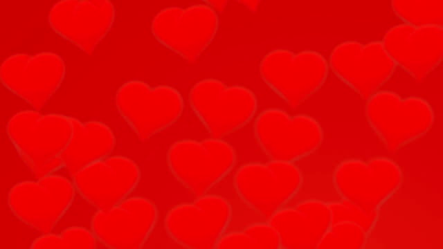 background-lovers heart video