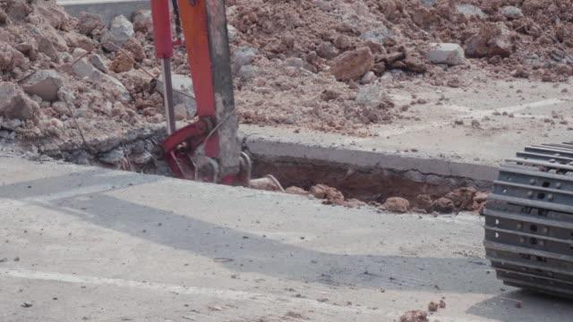 Backhoe Digging video