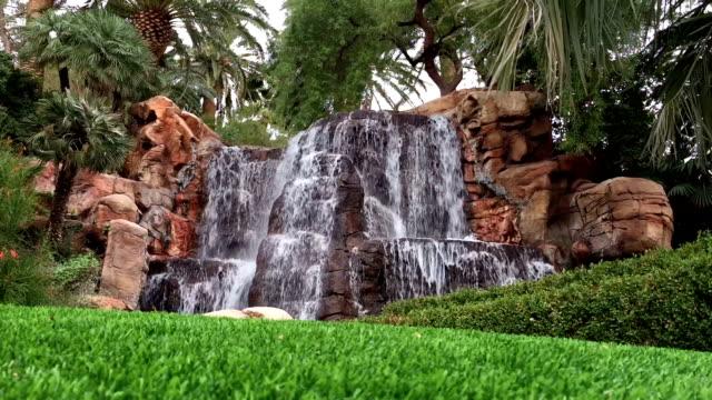 Backyard Waterfall video