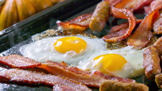 Bacon, Sausage and Eggs video