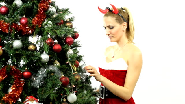 Bad Blonde Santa video