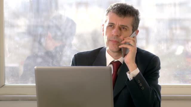 Bad News Businessman - 4K Resolution