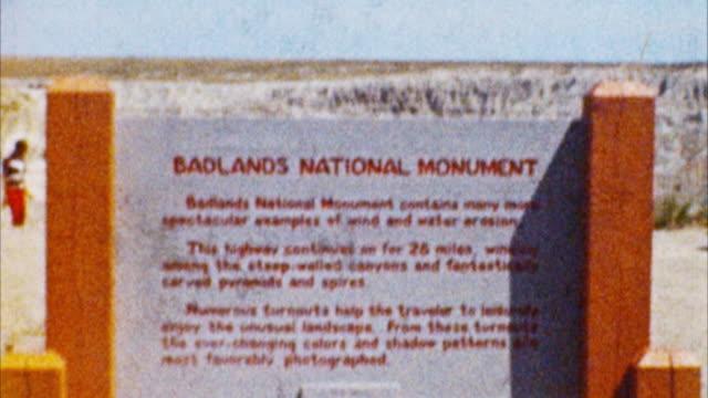 Badlands Park, South Dakota (Archival 1950s) video
