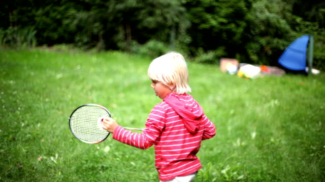badminton in nature video