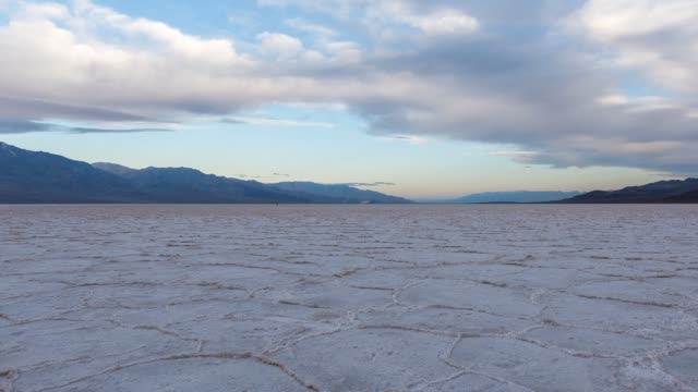 Badwater Basin Salt Flats Badwater Basin salt flats, located in lower California. 4k time lapse salt flat stock videos & royalty-free footage