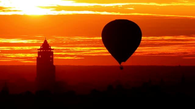 Bagan Nan Myint Tower at dawn, 360 viewing tower of Bagan, Myanmer Bagan the archaeological site at Mandalay, Myanmar. bagan stock videos & royalty-free footage