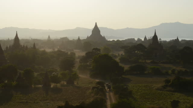 Bagan Temples Timelapse, Myanmar (Burma) Bagan Temples Timelapse, Myanmar (Burma) bagan stock videos & royalty-free footage