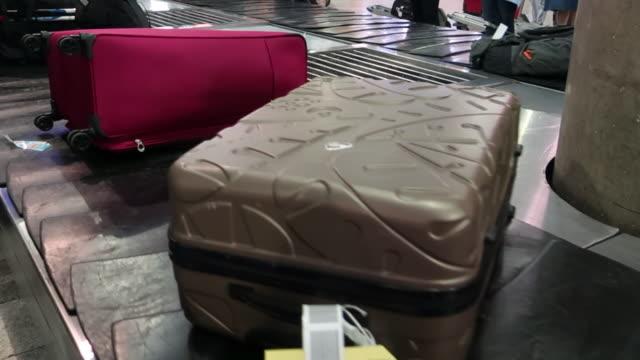 行李索賠帶 - 德黑蘭 個影片檔及 b 捲影像