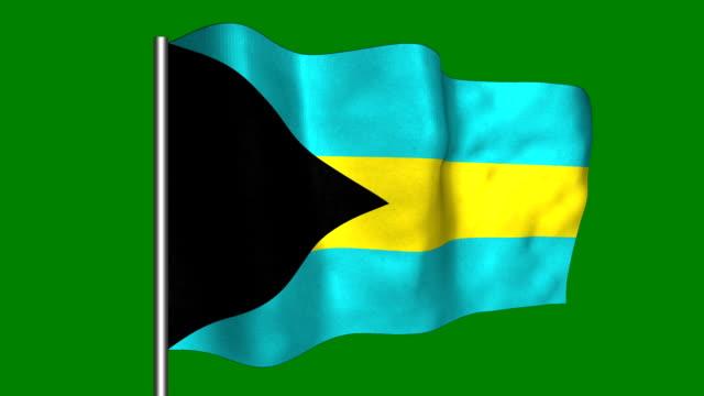 Bahamas - looping, waving video