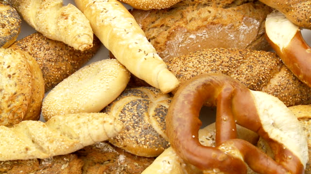 baked goods closeup video