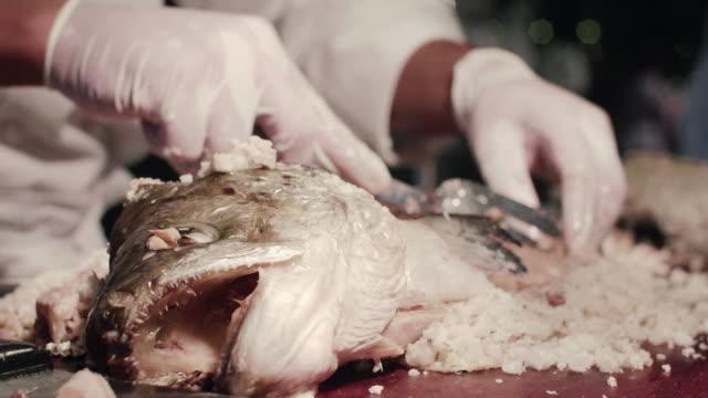 塩と焼き鮭 ビデオ