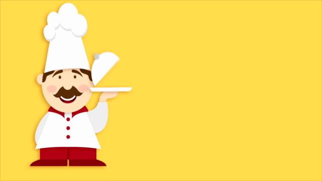 panetteria video animazione - cultura italiana video stock e b–roll