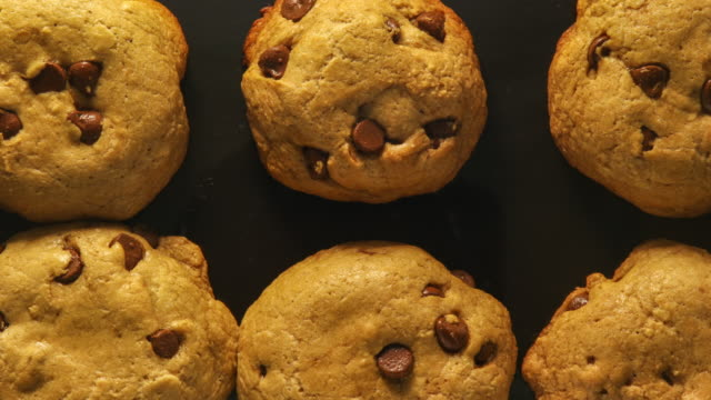 Baking Chocolate Chip Cookies: Concept Baking Muffins: Concept cookie stock videos & royalty-free footage
