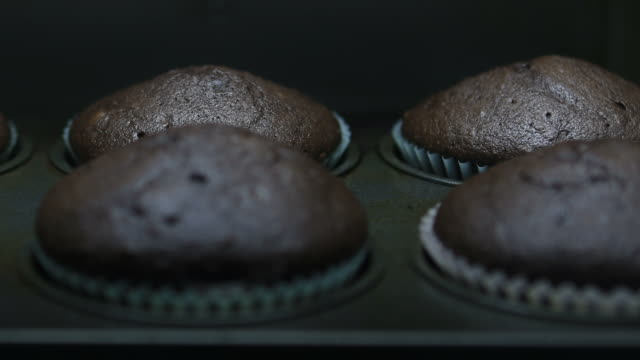 Baking Muffins Series of time lapse related to baking and food concepts cookie stock videos & royalty-free footage