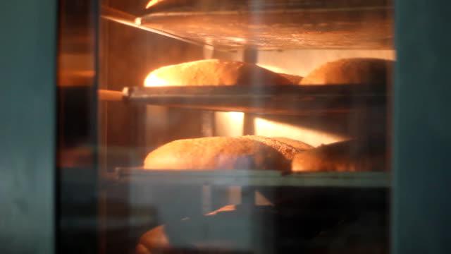 Baking of Bread video
