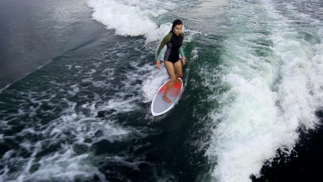 Balancing on Waves video