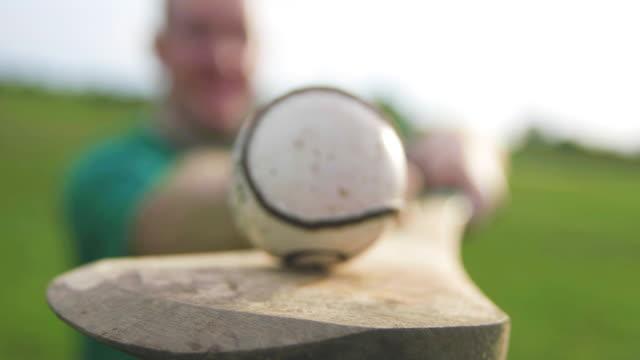 Balancing Sliotar Close Up video