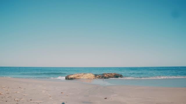 Balearic Island Formentera Rocky Beautiful Beach