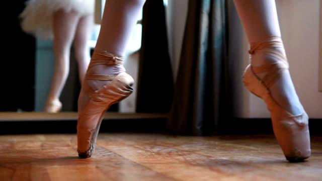 Balerina dancing video