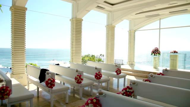 Bali glass church wedding video
