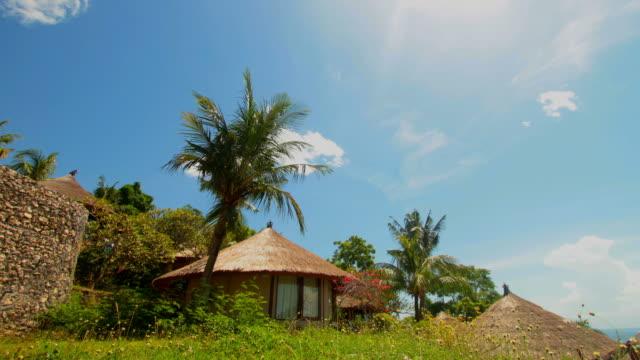 Bali Indonesia Villa at Lembongan Island Timelapse video