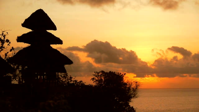 Bali Sunset Timelapse video