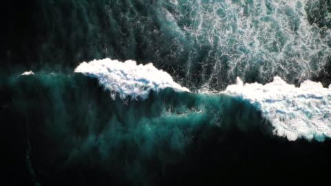 onde di bali - onda video stock e b–roll