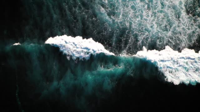 bali waves - surowy obraz filmowy filmów i materiałów b-roll