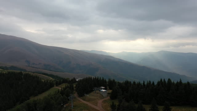 balkan mountain - serbia video stock e b–roll