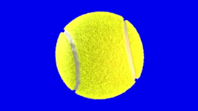 vidéos et rushes de ball spin tennis bs - balle ou ballon