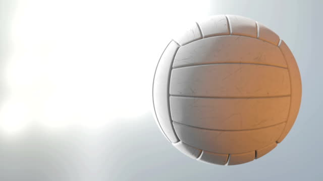 ball spin volleyball - volleyball stock videos and b-roll footage