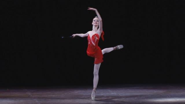 バレリーナ - バレエ点の映像素材/bロール