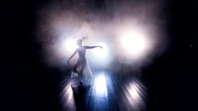 Ballerinas feet in a ballonne movement. video