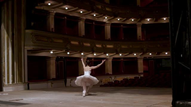 Ballerinas Life Ballerina taking bow on stage tutu stock videos & royalty-free footage