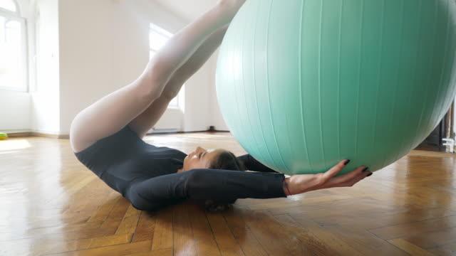 Ballet fit ball. video