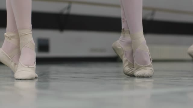 ballett-school - ballettschuh stock-videos und b-roll-filmmaterial