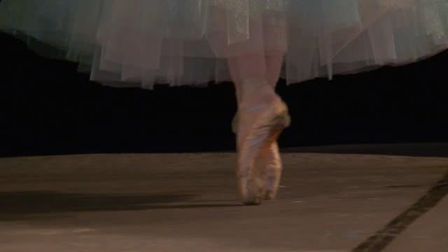 ballett - ballettröckchen stock-videos und b-roll-filmmaterial