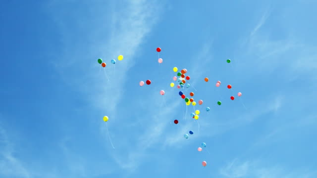 Balloons (Shot on Red) video
