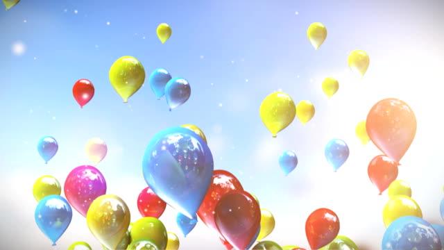 Balloons. video