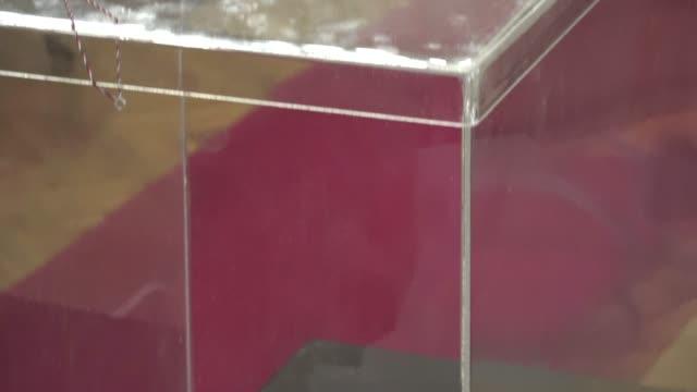 vidéos et rushes de jour du scrutin urne - picto urne